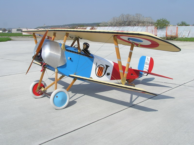 Nieuport N-11 1:4 Short kit