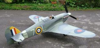 Trubky do křídel pro Hawker Hurricane 1:4,5 Mick Reeves